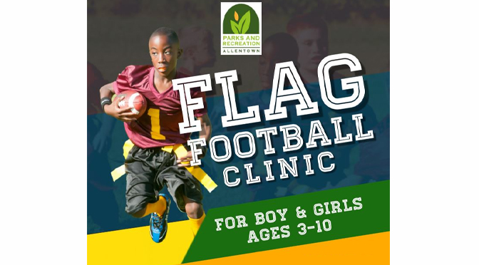 FLAG FOOTBALL CLINIC FOR CITY YOUTH