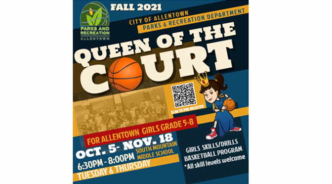 QUEEN OF THE COURT FALL PROGRAM