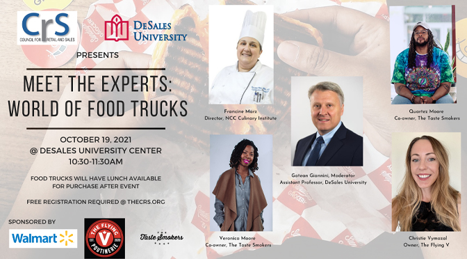 """CRS to host """"Meet the Experts: The World of Food Trucks"""""""