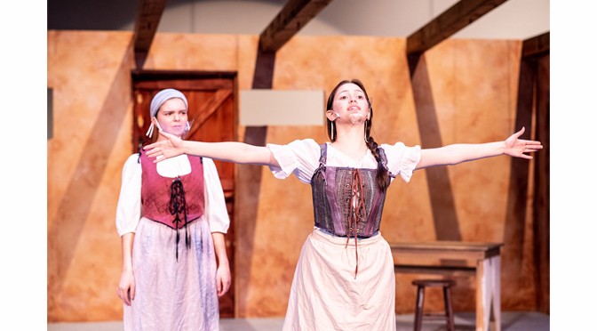"""The Lehigh Valley Charter High School for the Arts Theatre Department to present """"Mother of the Maid' by Jane Anderson, an interesting tale of Joan of Arc told from her mother's perspective"""