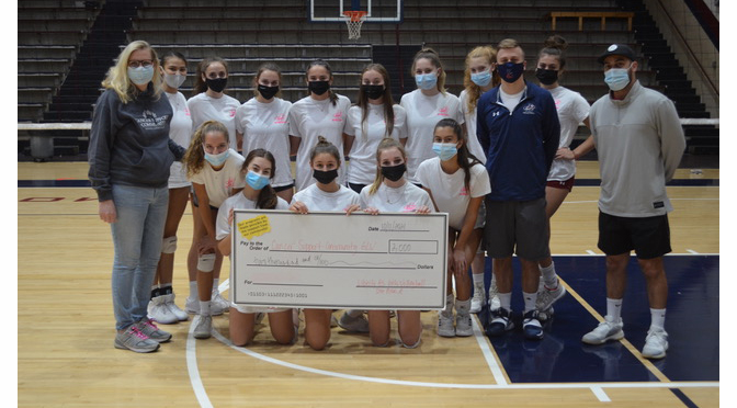 Liberty High School Girls Volleyball Makes Donation to Cancer Support Community of the Greater Lehigh Valley