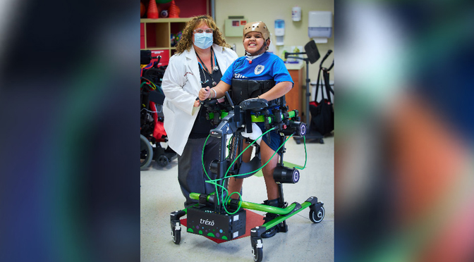 Good Shepherd Becomes First in Nation to Offer All 3 Sizes of Trexo Plus Gait Training Technology for Inpatient Pediatric Rehabilitation