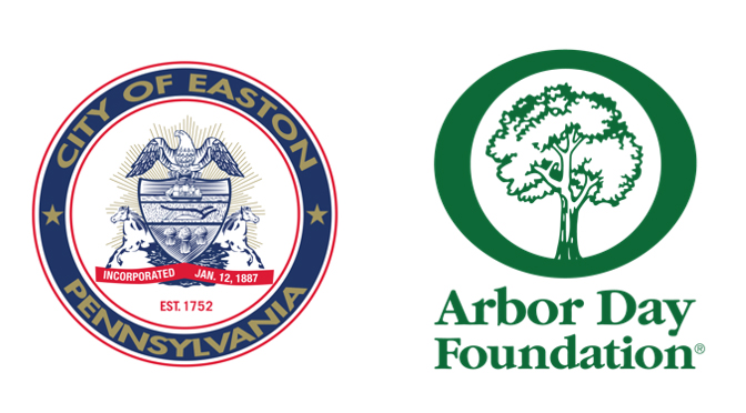 CITY OF EASTON PARTNERS WITH TD TREE DAYS  TO ENHANCE URBAN FOREST AND THE COMMUNITY  BY PLANTING TREES ON THE KARL STIRNER ARTS TRAIL ON OCT. 9