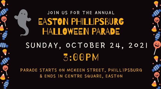 Easton Phillipsburg Halloween Parade