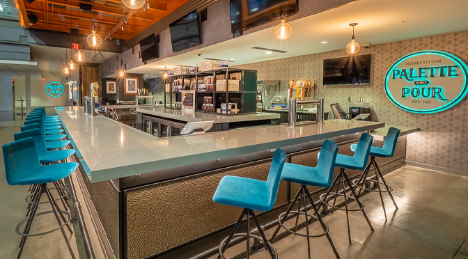 ARTSQUEST'S PALETTE & POUR RESTAURANT OPEN FOR DINNER AND A SHOW