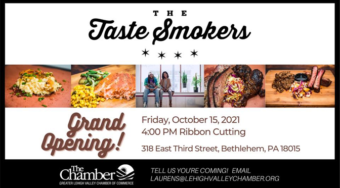 Grand Opening & Ribbon Cutting at The Taste Smokers